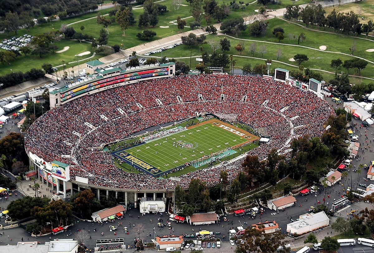 Rose Bowl Stadium de Pasadena Copa America 2016