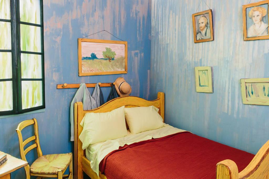 La clásica habitación de VanGogh se arrienda en Airbnb