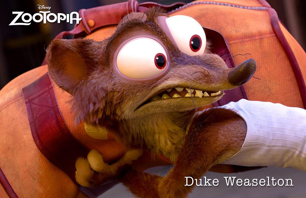 Zootopia personajes Duke