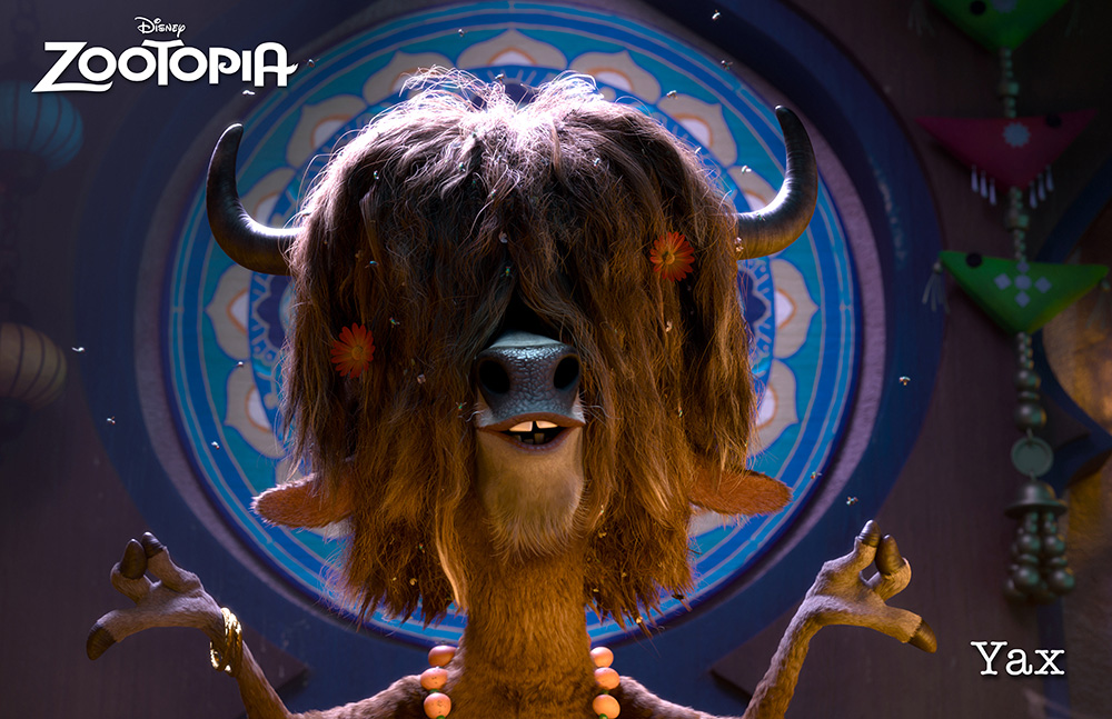 Zootopia personajes Yax