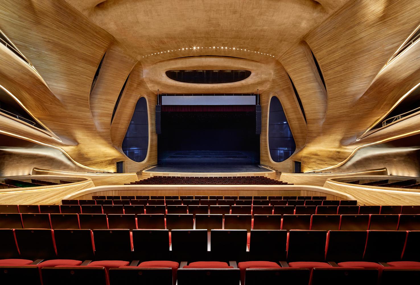 Arquitectura cultural: Ópera de Harbin