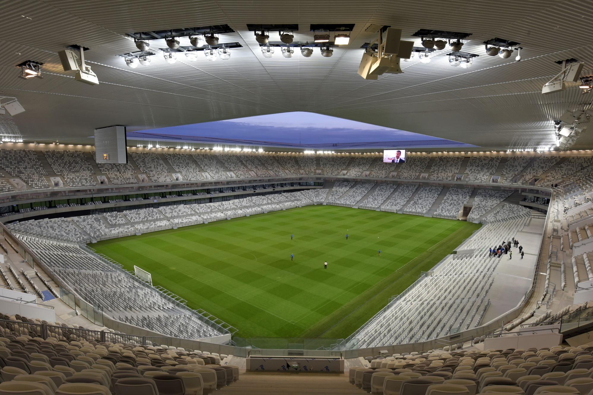 Arquitectura deportiva: Nuevo estadio de Burdeos