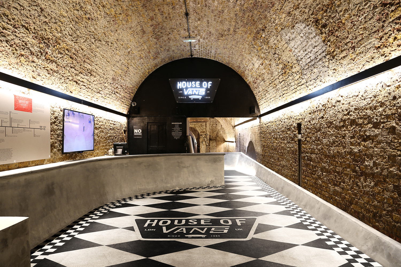 Arquitectura de interiores: House of Vans London