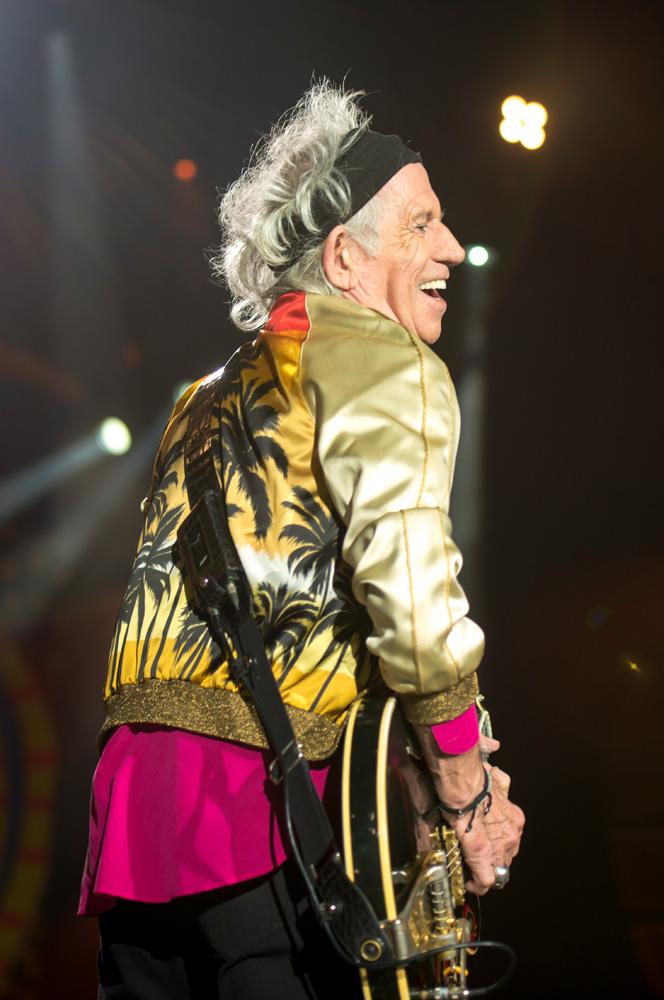 Keith Richards - The Rolling Stones en Chile   Fotógrafo: Javier Valenzuela
