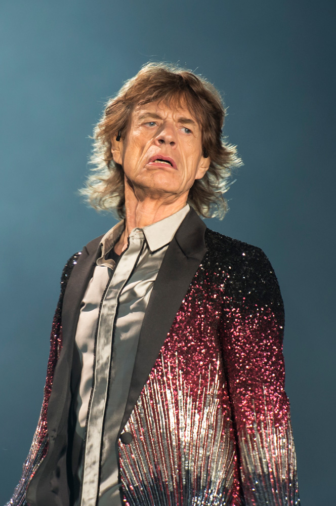 Mick Jagger - The Rolling Stones en Chile   Fotógrafo: Javier Valenzuela