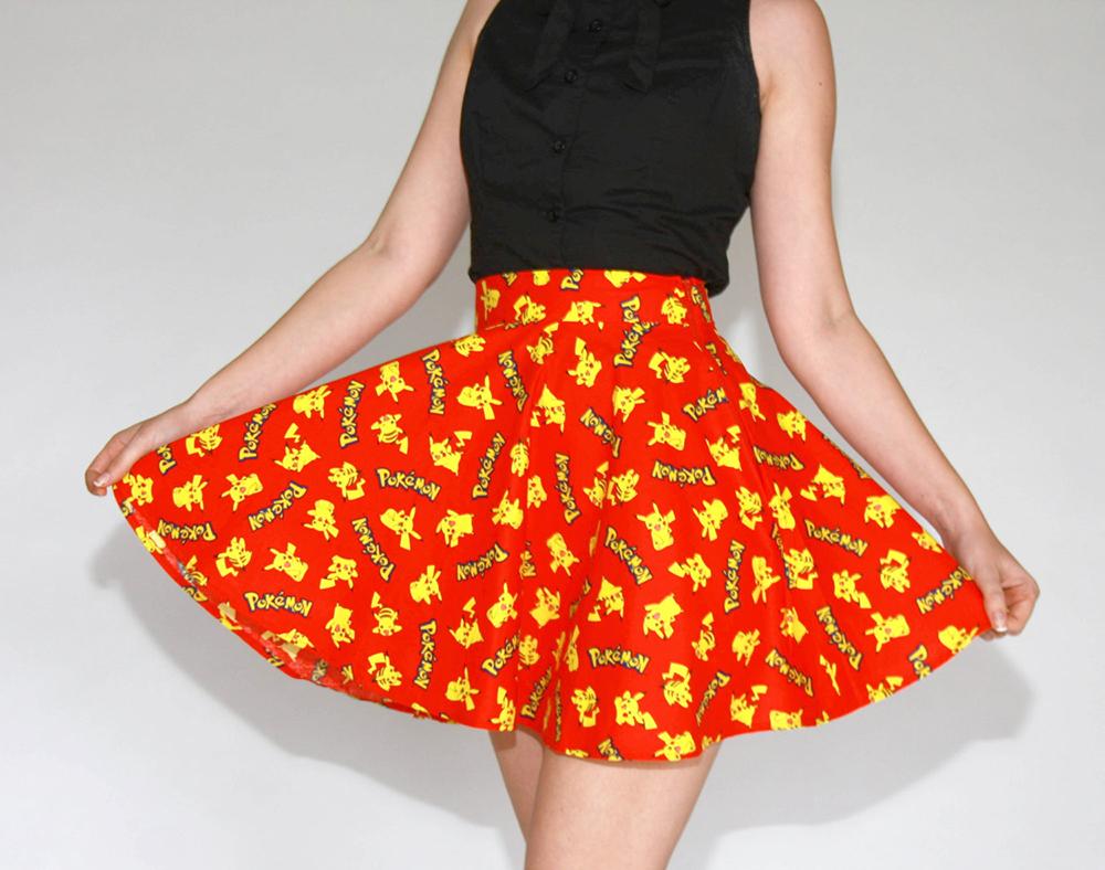 vestido pokemon pikachu