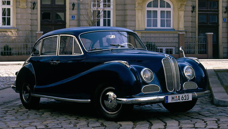BMW 501 historia