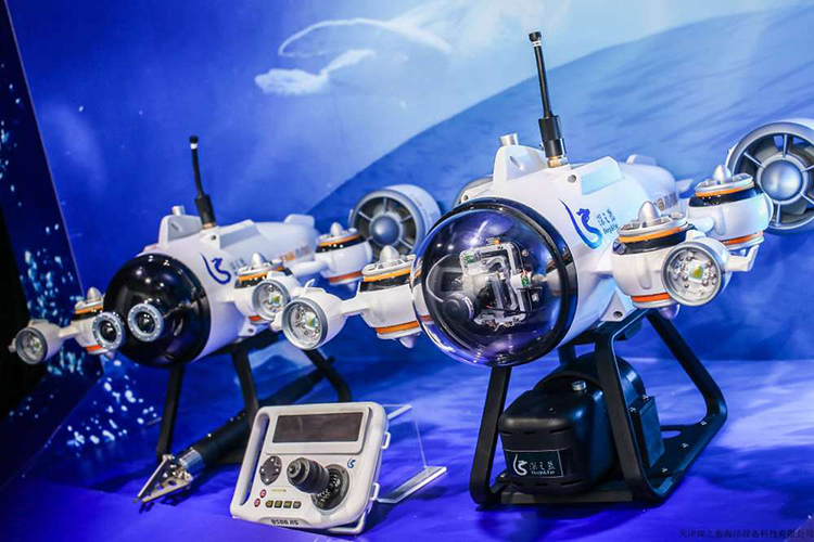 Deepfar drone White Shark Mini