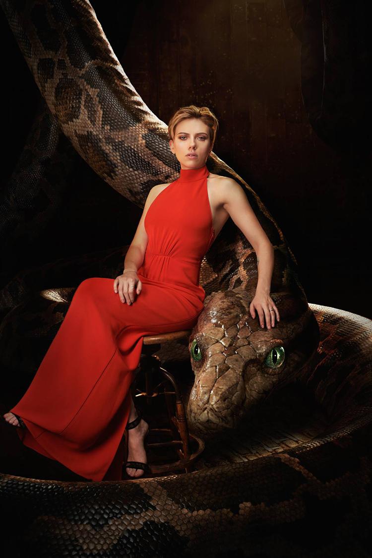 Scarlett Johansson El libro de la selva