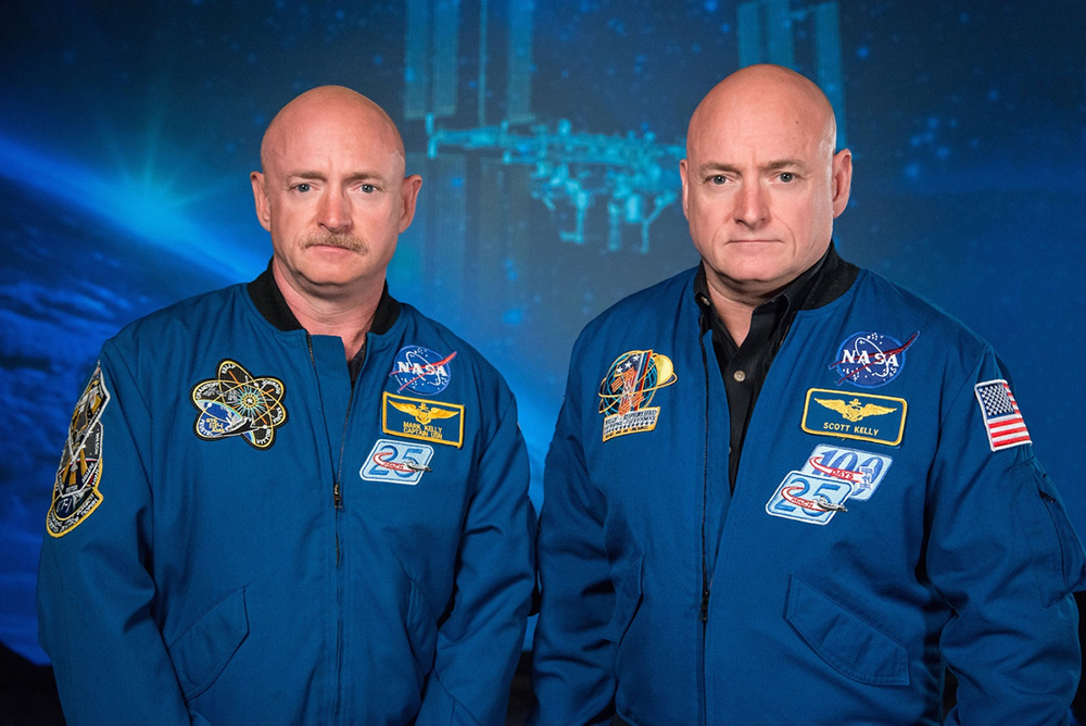 Scott Kelly Mark Kelly astronauta gemelos