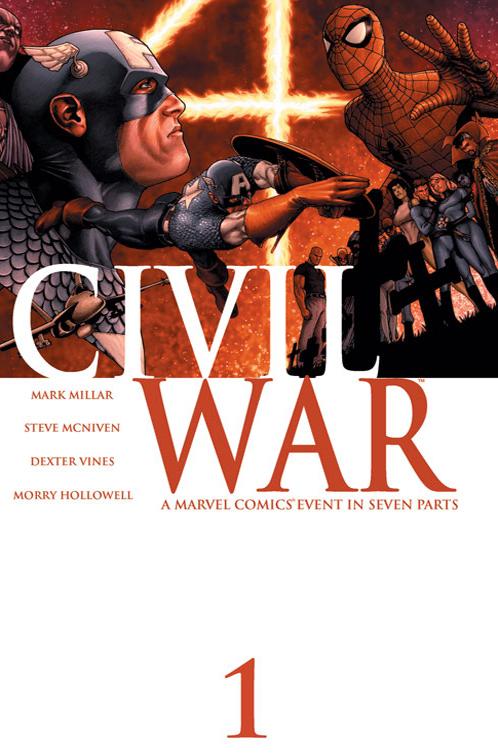 Civil War Comic 2006
