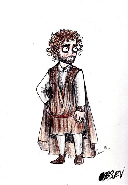 Game of Thrones Tim Burton Tyrion Lannister