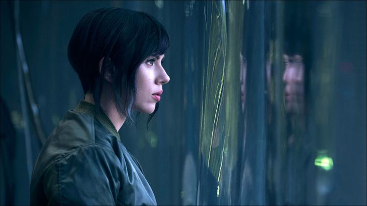 Motoko Kusanagi Scarlett Johansson