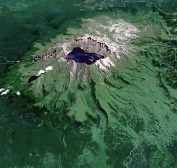 Volcan-Baektu-NASA