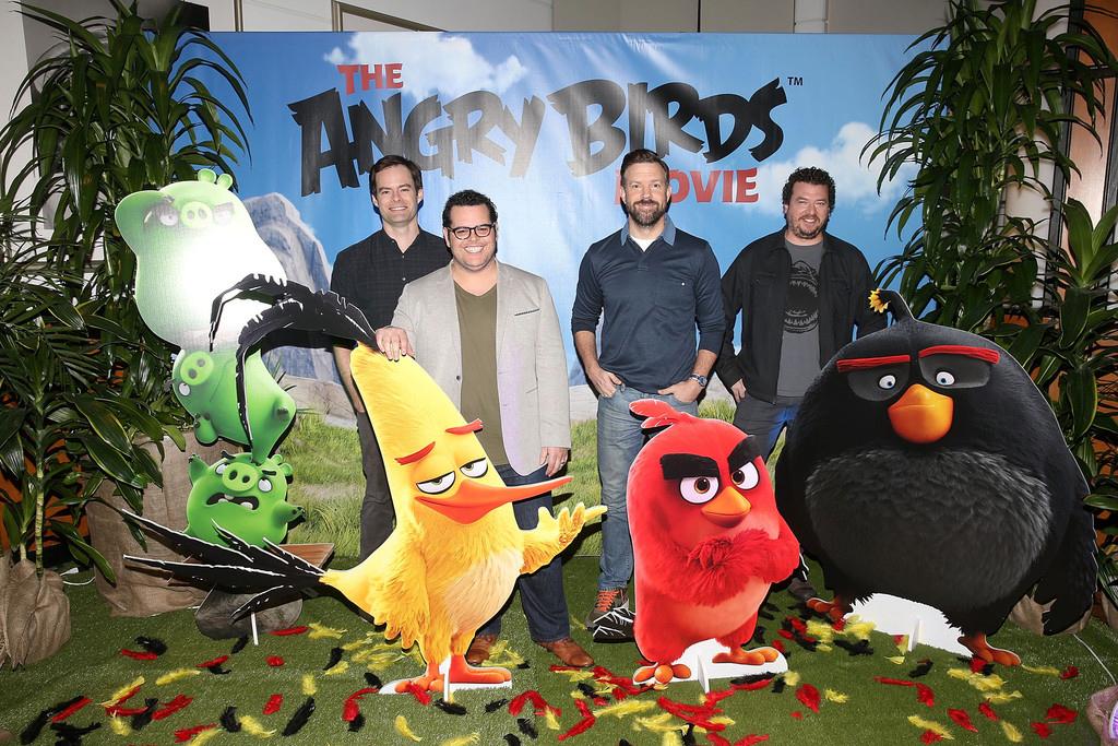 Angry Birds pelicula actores