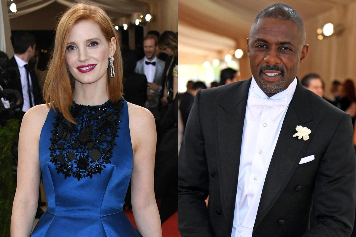 Jessica Chastain e Idris Elba