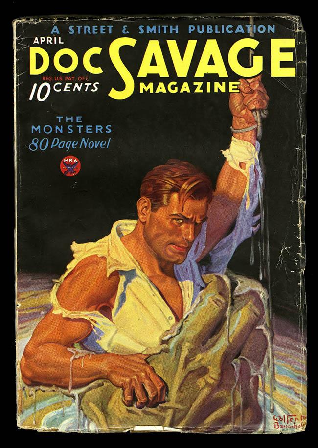 Doc Savage The Rock