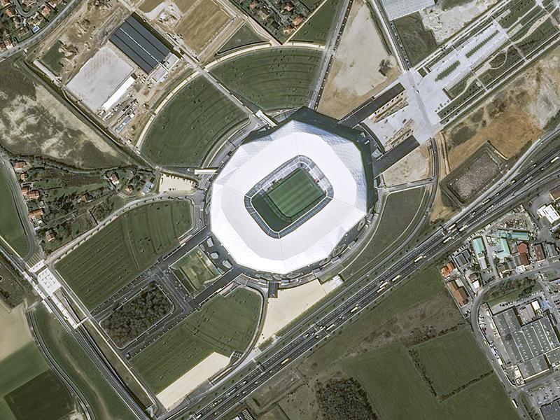 Parc Olympique Lyonnais Lyon Eurocopa 2016