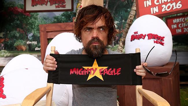 Peter Dinklage Angry Birds pelicula