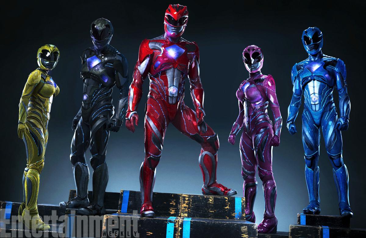 Power Rangers trajes película 2017