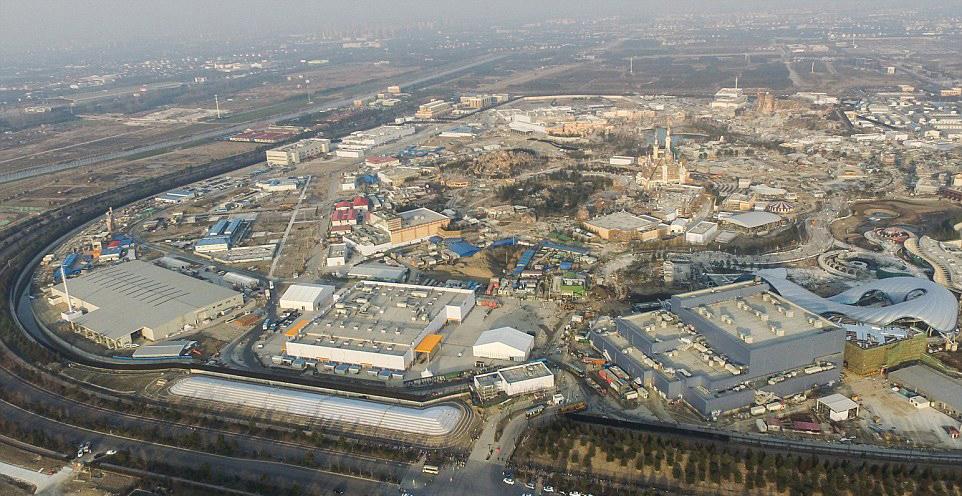 Shanghai Disneyland Park parque tematico