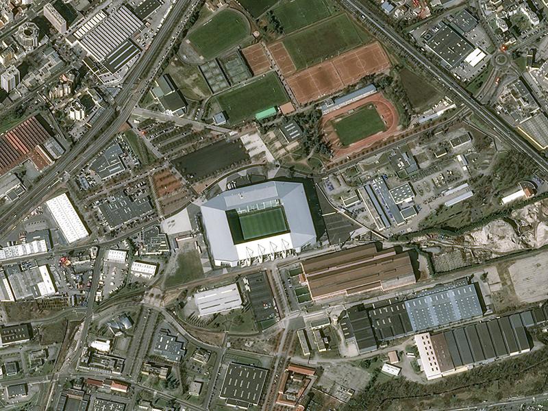 Stade Geoffroy Guichard Eurocopa 2016
