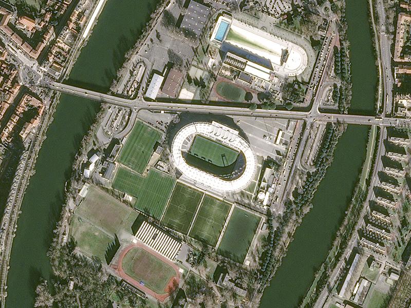 Stade de Toulouse Eurocopa 2016