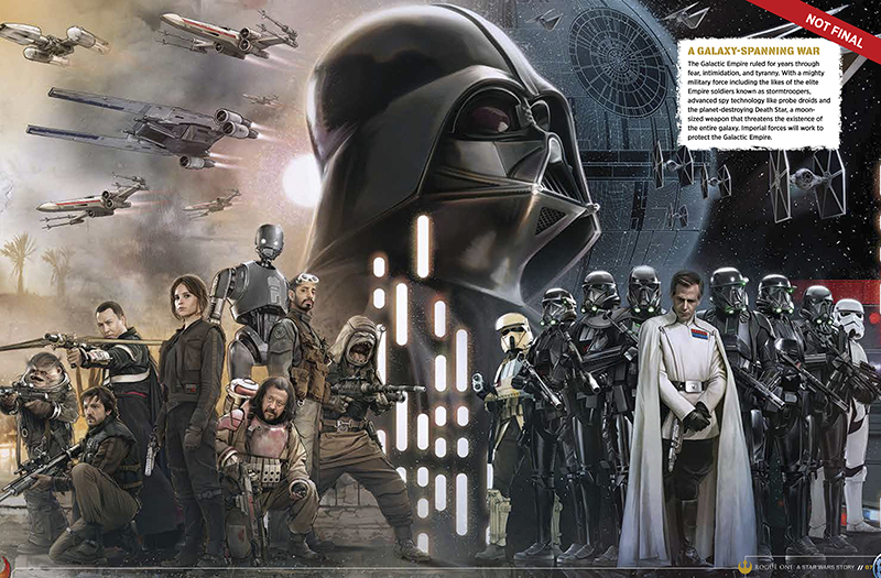 Star Wars Rogue One personajes