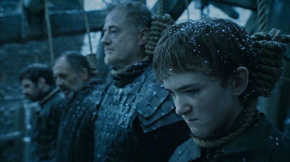 Game of Thrones - Alliser Thorne y Olly