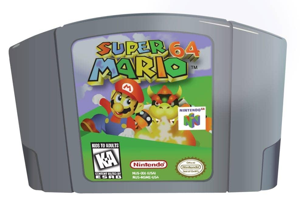 Nintendo 64 cartucho