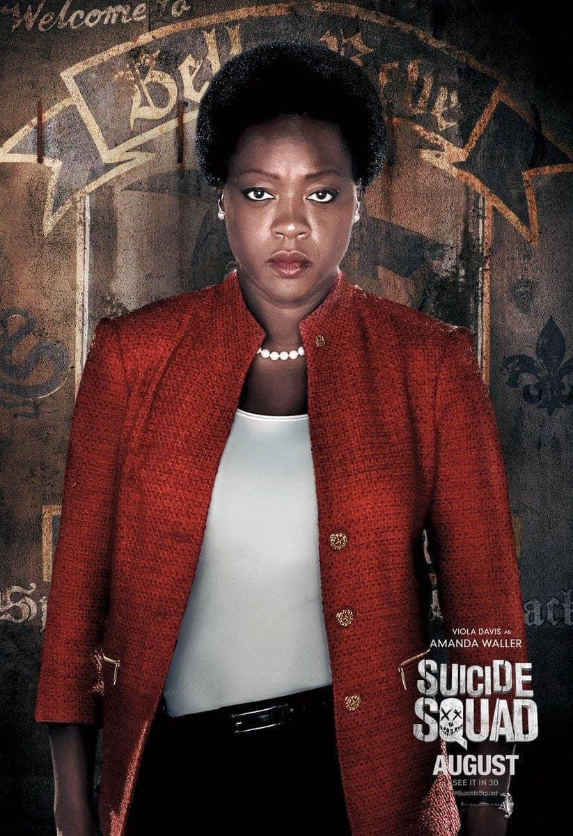 Suicide Squad protagonista poster Amanda Waller