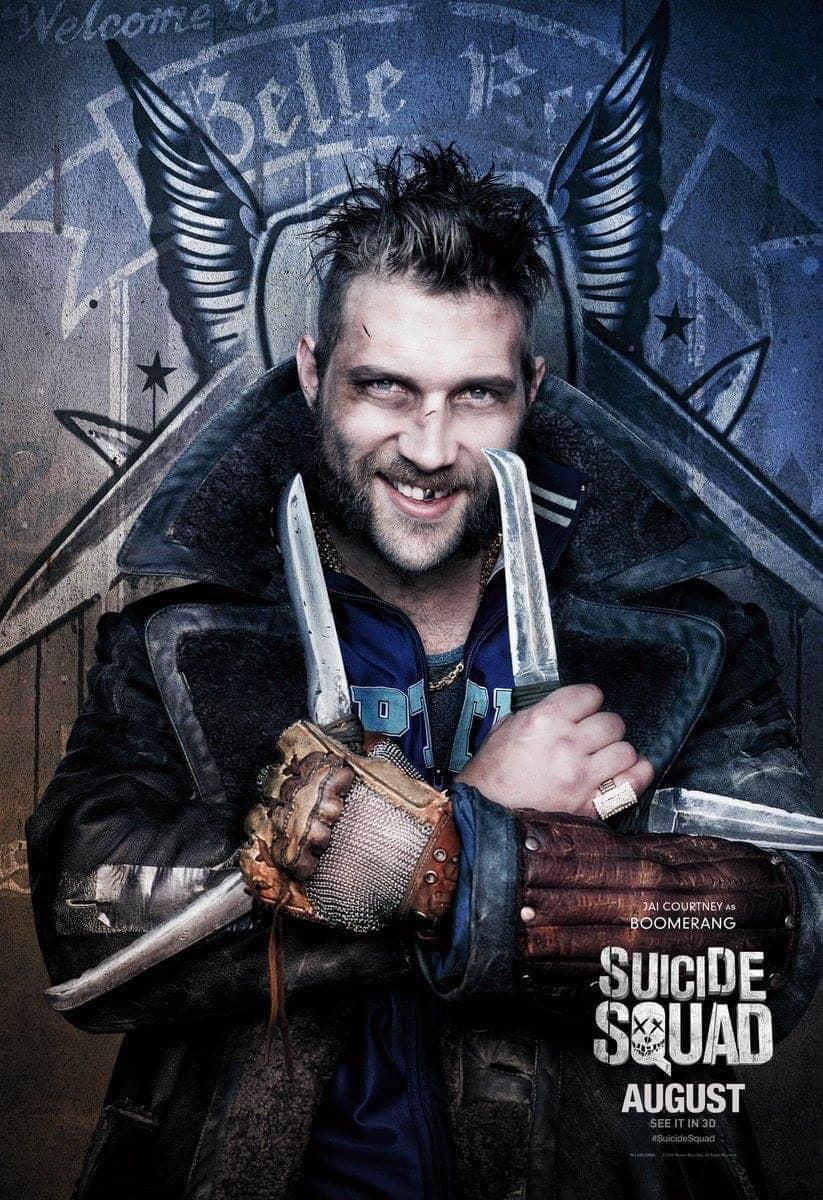 Suicide Squad protagonista poster Boomerang