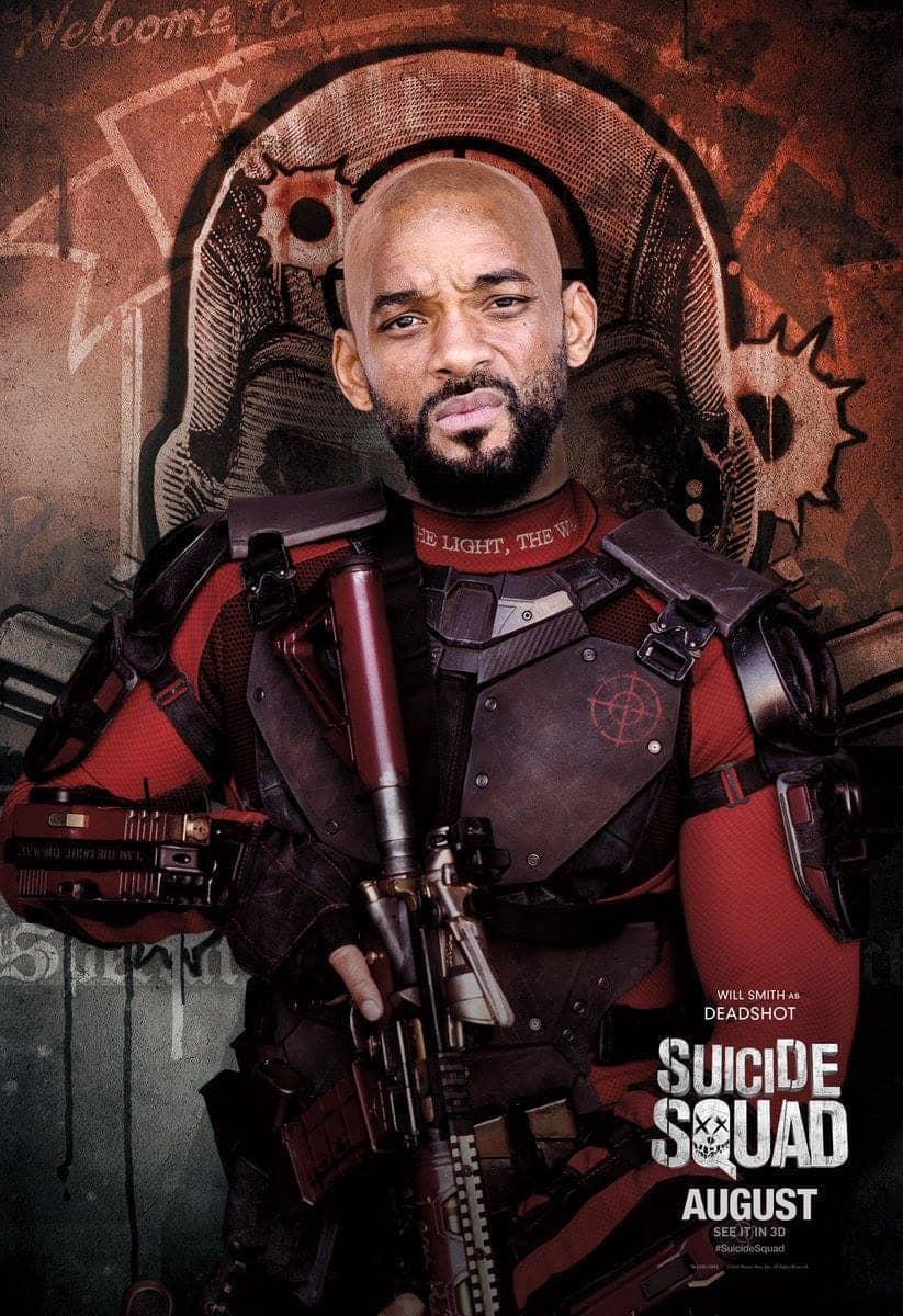 Suicide Squad protagonista poster Deadshot