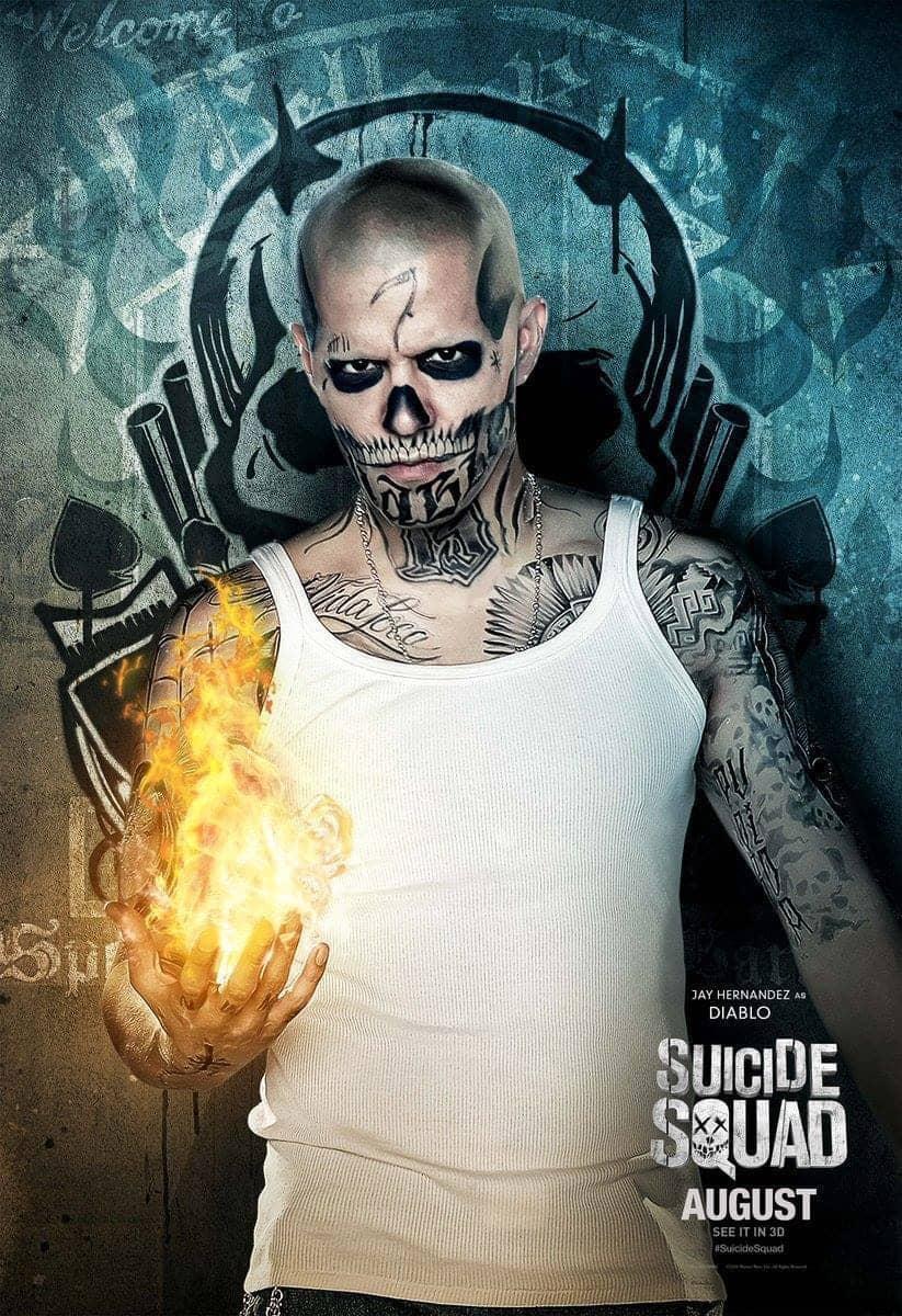 Suicide Squad protagonista poster Diablo