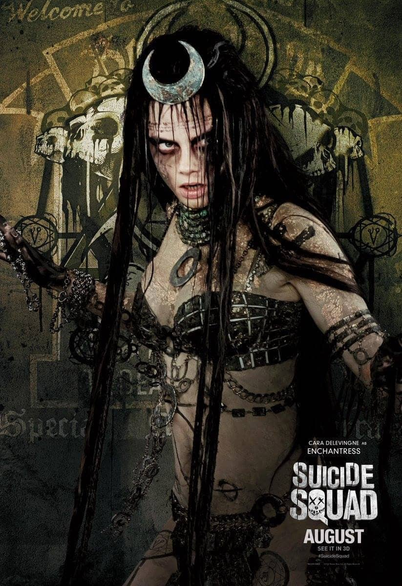Suicide Squad protagonista poster Enchantress