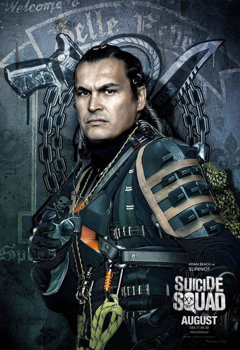 Suicide Squad protagonista poster Slipknot