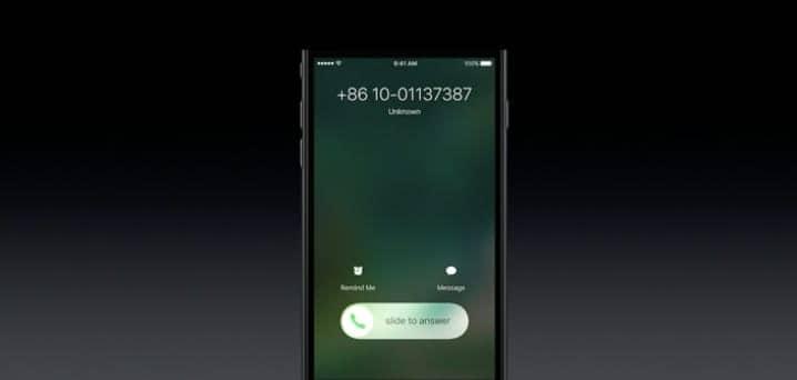 iOS 10 Llamadas