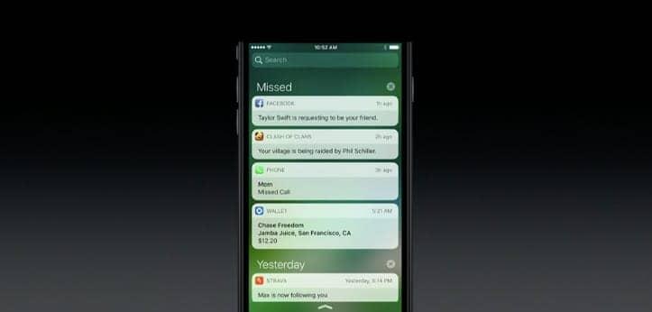 iOS pantalla bloqueada
