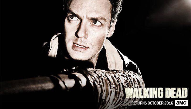 The Walking Dead septima temporada Arron