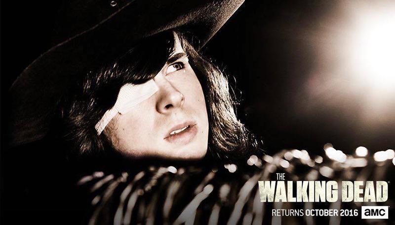 The Walking Dead septima temporada Carl