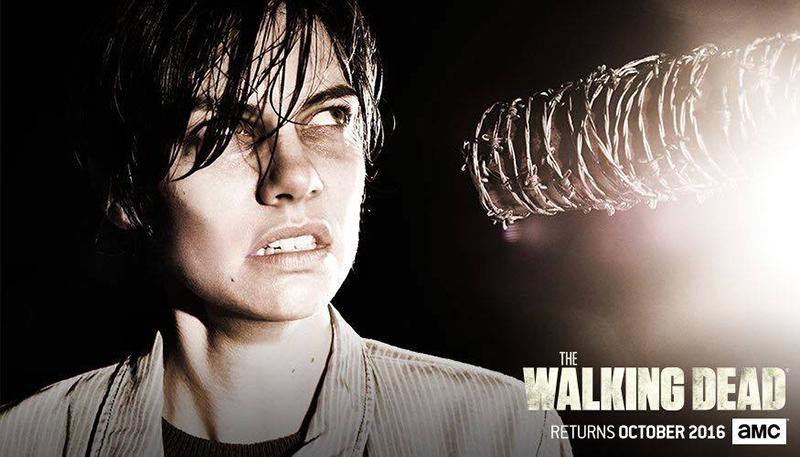 The Walking Dead septima temporada Maggie