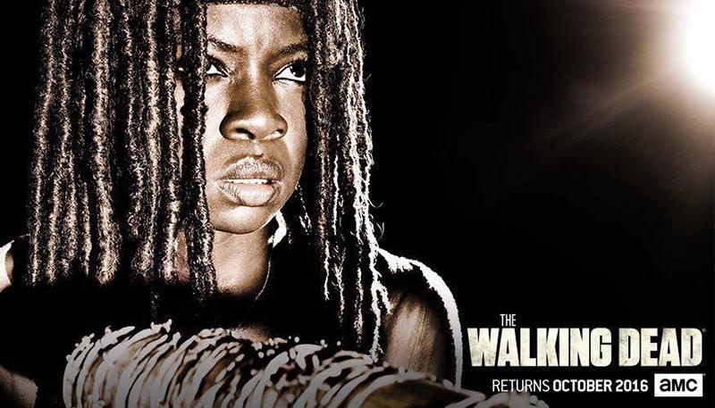 The Walking Dead septima temporada Michonne