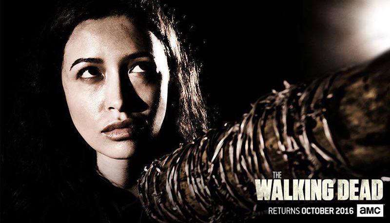 The Walking Dead septima temporada Rosita