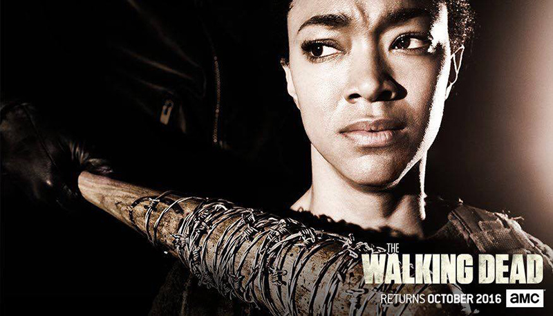 The Walking Dead septima temporada Sasha