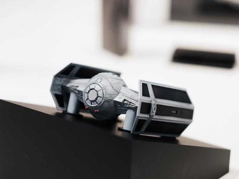 drones star wars Tie Advanced X1
