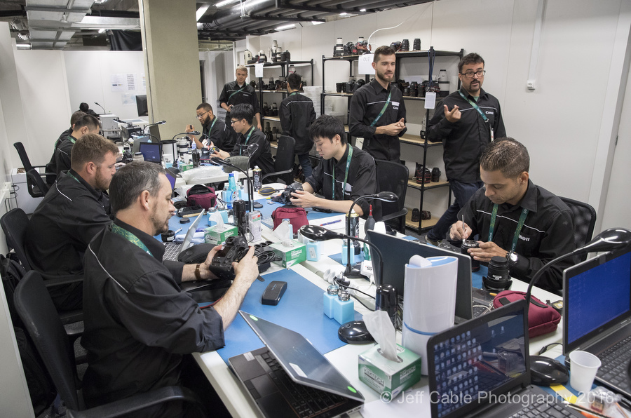 © Jeff Cable Photography:  Inside CPS at the MPC in Rio