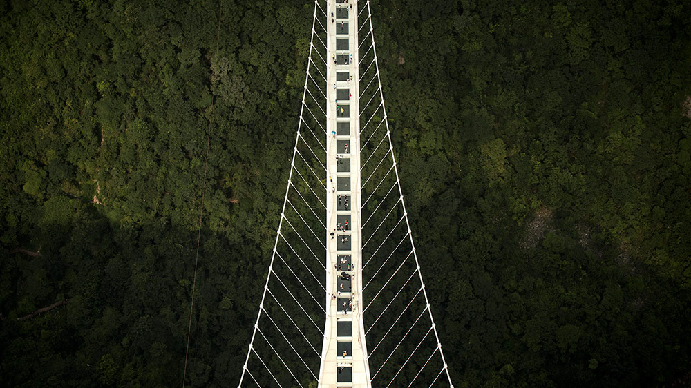 Puente China cristal