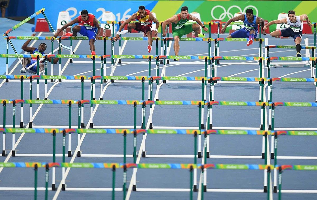 Rio 2016 caida