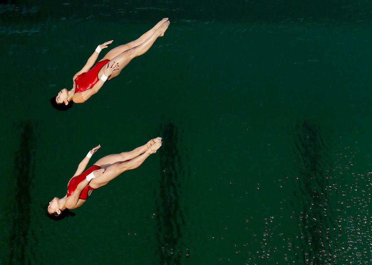 Rio 2016 clavados agua verde