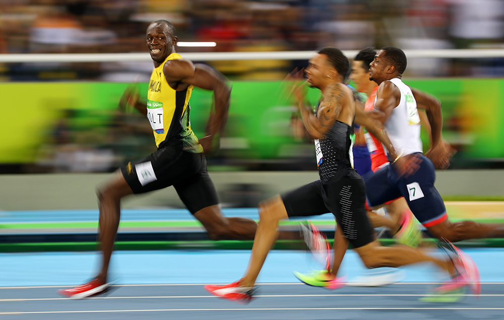 Usain Bolt Pfaffenbach Rio 2016